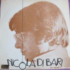 Discos de vinilo: LP - NICOLA DI BARI - EN ESPAÑOL (SPAIN, RCA RECORDS 1973). Lote 222583787