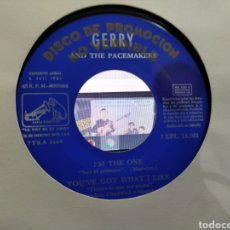 Discos de vinilo: GERRY AND THE PACEMAKERS EP PROMOCIONAL I'M THE ONE + 3 ESPAÑA 1964. Lote 222588343