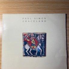Discos de vinilo: LP: PAUL. SIMÓN GRACELAND. Lote 222588803