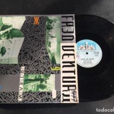 """Discos de vinilo: FRED VENTURA LEAVE ME ALONE - EXTENDED 12"""" ITALO DISCO - ORIGINAL ITALY. Lote 222589948"""