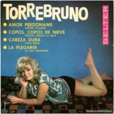 Discos de vinilo: TORREBRUNO - AMOR, PERDONAME - EP SPAIN 1964 - BELTER 51.462 - MASPOS+UBIÑA. Lote 222590415