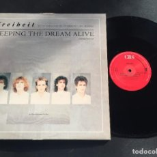 """Discos de vinilo: FREIHEIT KEEPING THE DREAM ALIVE - EXTENDED 12"""" HOLLAND. Lote 222593413"""