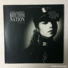 Discos de vinilo: JANET JACKSON – RHYTHM NATION 1814 EUROPE 1989 A&M RECORDS. Lote 222511187