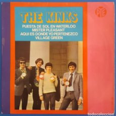 Discos de vinilo: EP / THE KINKS / WATERLOO SUNSET - MISTER PLEASANT - THIS IS WHERE I BELONG - VILLAGE GREEN. Lote 222594740