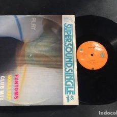 """Discos de vinilo: FUNTOMS HOOLA RAP - MAXI SINGLE 12"""" GERMANY. Lote 222595923"""