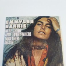 Dischi in vinile: EMMYLOU HARRIS HERE THERE AND EVERYWHERE / TOGETHER AGAIN ( 1976 HISPAVOX ESPAÑA ) BEATLES. Lote 222597350