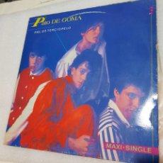 Discos de vinilo: PATO DE GOMA - PIEL DE TERCIOPELO. Lote 222599420