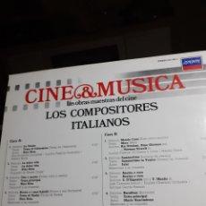 Discos de vinilo: NINO ROTA, MOGOL, ORTOLANI, MODUGNO, X. CUGAT. Lote 222599486