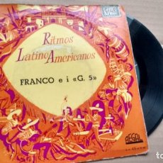 Discos de vinilo: E.P ( VINILO) DE FRANCO E I.G. 5 AÑOS 50. Lote 222602188