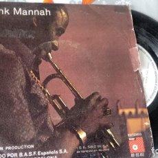 Discos de vinilo: SINGLE 8VINILO) DE FRANK MANNAH AÑOS 80. Lote 222602917