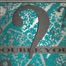 Discos de vinilo: DOUBLE YOU PLEASE. Lote 222604107