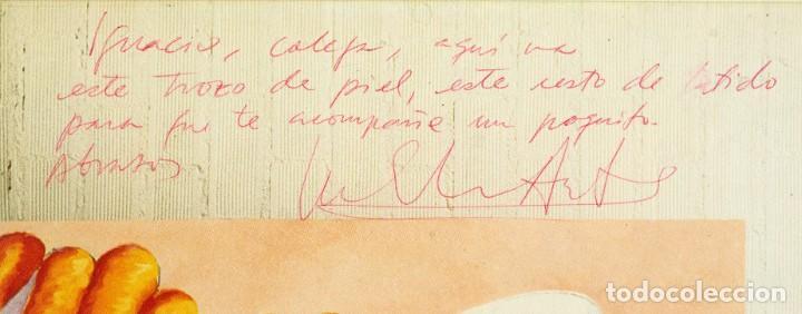 Discos de vinilo: Luis Eduardo Aute - Lp Cuerpo a cuerpo - Firmado - Foto 3 - 222604371