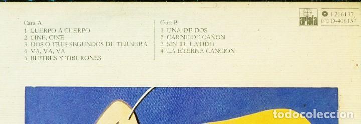 Discos de vinilo: Luis Eduardo Aute - Lp Cuerpo a cuerpo - Firmado - Foto 6 - 222604371