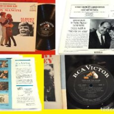 Discos de vinilo: HENRY MANCINI, TWO FOR THE ROAD 67 B.S.O. DYNAGROOVE RCA LPM-3802 1º USA EDT, TODO IMPECABLE !!. Lote 222605105