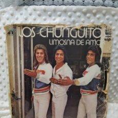 Discos de vinilo: LOS CHUNGUITOS - LIMOSNA DE AMOR - LP 1979. Lote 222609347