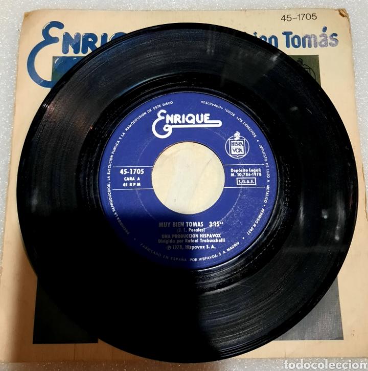 Discos de vinilo: Enrique - muy bien Tomas - Foto 3 - 222610723