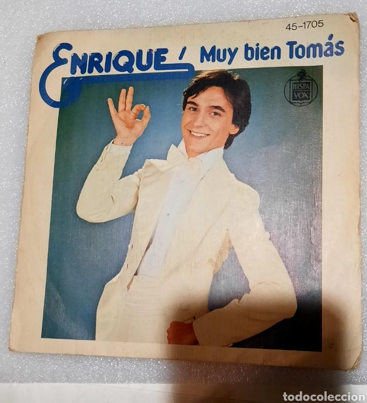 ENRIQUE - MUY BIEN TOMAS (Música - Discos - Singles Vinilo - Música Infantil)