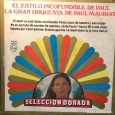 Discos de vinilo: LP ARGENTINO Y RECOPILATORIO DE LA GRAN ORQUESTA DE PAUL MAURIAT AÑO 1969. Lote 222610811