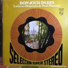 Discos de vinilo: LP ARGENTINO DE LA GRAN ORQUESTA DE PAUL MAURIAT AÑO 1970 (1). Lote 222610948