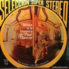 Discos de vinilo: LP ARGENTINO DE LA GRAN ORQUESTA DE PAUL MAURIAT AÑO 1970 (2). Lote 222611120