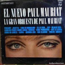 Discos de vinilo: LP ARGENTINO DE LA GRAN ORQUESTA DE PAUL MAURIAT AÑO 1970 (3). Lote 222611352