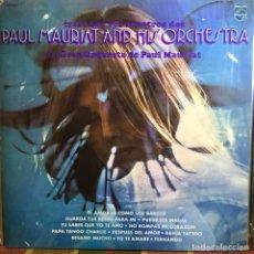 Discos de vinilo: LP ARGENTINO DE LA GRAN ORQUESTA DE PAUL MAURIAT AÑO 1976 (1). Lote 222612131