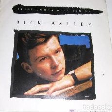 Discos de vinilo: RICK ASTLEY GONNA GIVE YOU UP. Lote 222614688