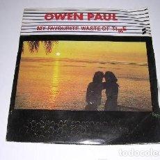 Discos de vinilo: OWEN PAUL - POP ROCK - NEW WAVE EXTRANJERO DE LOS 80 UK EDITION. Lote 222614851