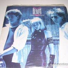 Discos de vinilo: BERLIN - LIKE FLAMES / HIDEAWAY. Lote 222614897