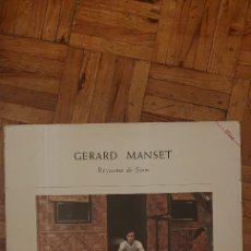 Discos de vinilo: GÉRARD MANSET – ROYAUME DE SIAM SELLO: EMI – C 070 -14721 SERIE: FAME – 1147211 FORMATO: VINYL, LP. Lote 222614918