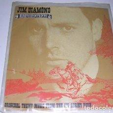 Discos de vinilo: JIM DIAMOND HI HO SILVER ORIGINAL THEME MUSIC FROM THE ITV SERIES BOON. Lote 222614936