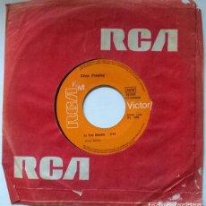 Discos de vinilo: ELVIS PRESLEY. ANY DAY NOW/ IN THE GHETTO. RCA-VICTOR, SPAIN 1969 SINGLE. Lote 222614951