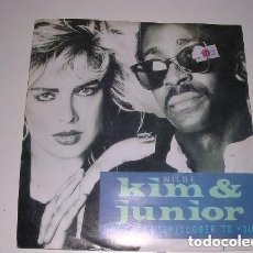 Discos de vinilo: KIM WILDE AND JUNIOR ANOTHER STEP (CLOSER TO YOU). Lote 222615236