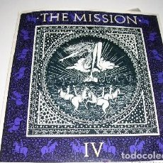 Discos de vinilo: THE MISSION IV WASTELAND / SHELTER FROM THE STORM. Lote 222615300