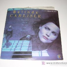 Discos de vinilo: BELINDA CARLISLE HEAVEN IS A PLACE ON EARTH. Lote 222615887
