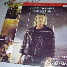 Discos de vinilo: CHRIS NORMAN MIDNIGHT LADY LP MAXI SINGLE. Lote 222615911