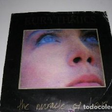 Discos de vinilo: EURYTHMICS ( THE MIRACLE OF LOVE - WHEN TOMORROW COMES ) 1986 SINGLE 45. Lote 222616013