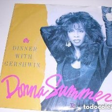 Discos de vinilo: DONNA SUMMER DINNER WITH GERSHWIN. Lote 222616046