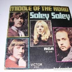 Discos de vinilo: MIDDLE OF THE ROAD SOLEY SOLEY. Lote 222616107