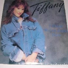 Discos de vinilo: TIFFANY, I THINK WE´RE ALONE NOW, AÑO 1987. Lote 222616118