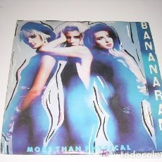 Discos de vinilo: BANANARAMA MORE THAN PHYSICAL / SCARLETT. Lote 222616132