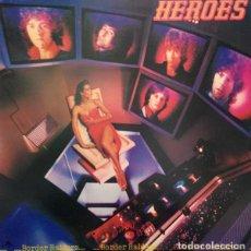 Discos de vinilo: HEROES - BORDER RAIDERS LP 1980 EDICION USA POWER POP NEW WAVE. Lote 222621665