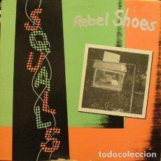 Discos de vinilo: THE SQUALLS - REBEL SHOES -LP 1987 ED USA NEW WAVE. Lote 222621758