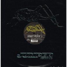 Discos de vinilo: KINKY BOYS - DON'T WANNA LEAVE HERE - MAXI SINGLE 2000. Lote 222623225