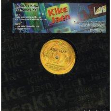 Discos de vinilo: KIKE JAÉN - URBAN CHIME REMIXES 97 - MAXI SINGLE 1997. Lote 222623391