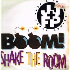 Discos de vinilo: JAZZY JEFF & FRESH PRINCE - BOOM SHAKE THE ROOM (5 VERSIONES) - MAXI SINGLE 1993. Lote 222623745