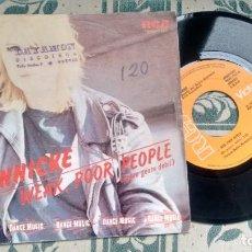 Discos de vinilo: SINGLE (VINILO) DE JANNICKE AÑOS 80. Lote 222624053