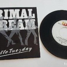 Discos de vinilo: PRIMAL SCREAM SINGLE GENTLE TUESDAY E IMPERIAL. MUY BUEN ESTADO. Lote 222624448