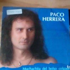 Discos de vinilo: SINGLE (VINILO) DE PACO HERRERA AÑOS 90. Lote 222624607