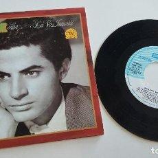Discos de vinilo: ANTONIO MOLINA SINGLE LA VOZ INMORTAL (DE SUS 50 MEJORES CANCIONES), CUATRO TEMAS. Lote 222624646